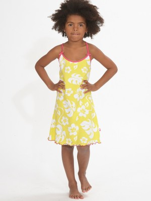 Slipdress-Yellow