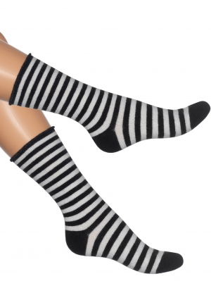 Striped Soft Woollen Sock