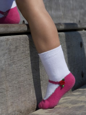 Ballerina Rose Sock