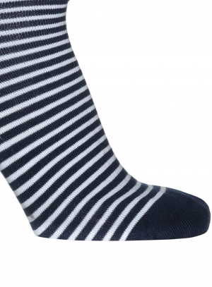 Breton Stripe Short Sock Men