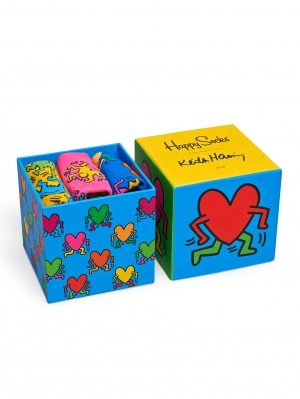 Keith Haring Sock Box Set