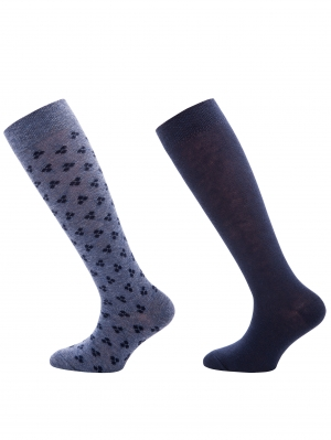 Small Dot Knee High 2-Pack