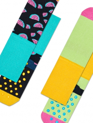Melon Anti-slip Sock 2-Pack