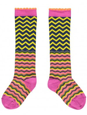 Zigzag Knee High