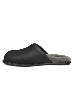 Scuff - Leren Heren Slipper