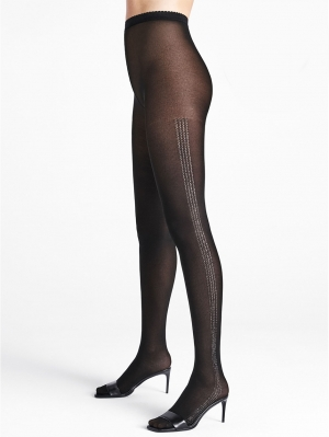 Silver Dust Tights