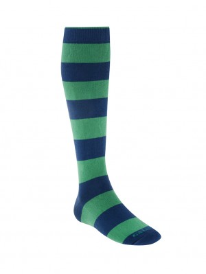 Rugby Stripe Cotton/Cashmere