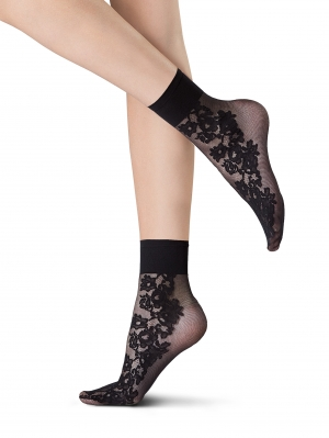 Demi-Bas Daisy Chain Socks