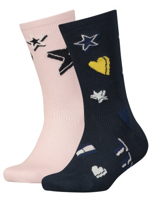 Girls Graphic Sock 2-Pack