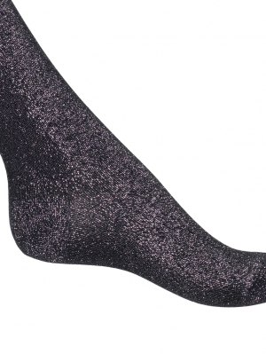 Cotton/Lurex Sock