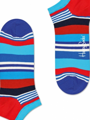 Multi Stripe Ankle Sock