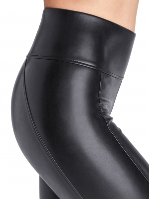 Vegan Leather Edie Forming Leggings