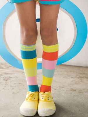 Multi Colour Knee-High