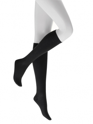 Soft Wool Cotton Knee-Highs