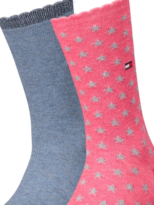 Girls Glitter Sock 2-Pack