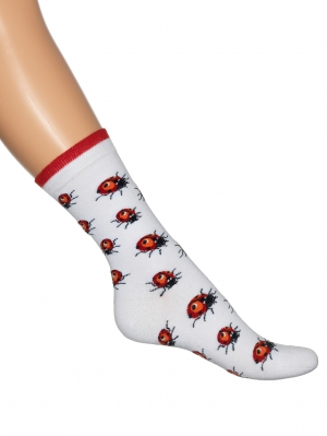 Ladybird Sock Women