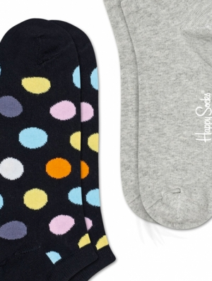 Big Dot Low Sock 2-Pack