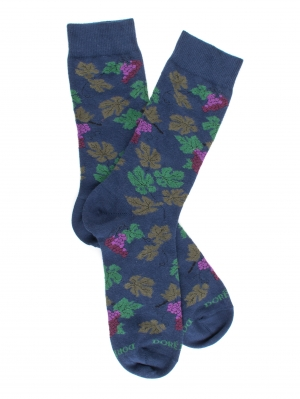 Chaussette Grapes and Leaves Sock