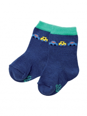 Blue Car Sock