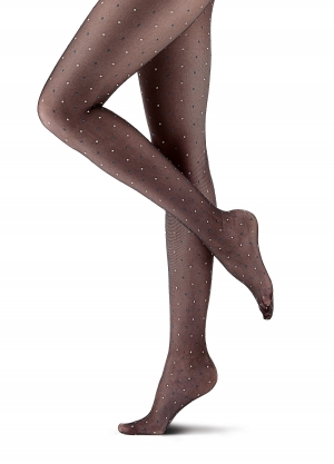 Bicolor Dot Tights