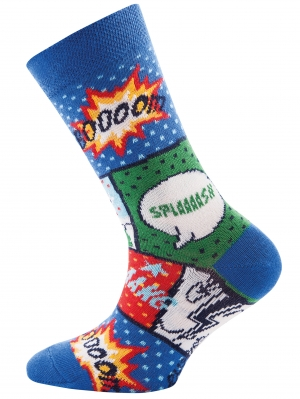 Comic Boy Sock