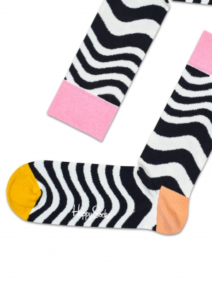 Wavy Stripe Sock