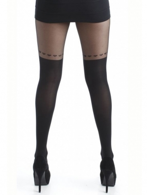 Over the knee Heart Tights