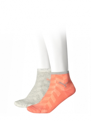 Fishbone Mesh Quarter Sock