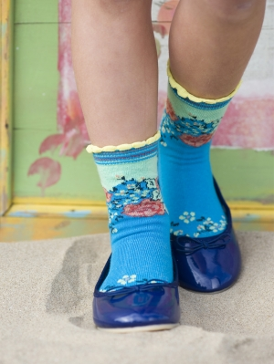 Splendid Flowers Sock Kids