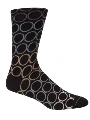 3-Pack Stripe & Circle Socks