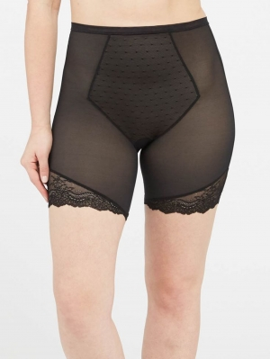 Spotlight On Lace Mid-Thigh Short NEW