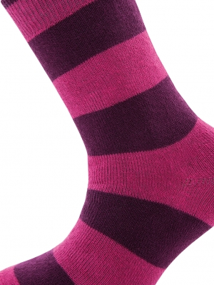 Thermo stripe Sock