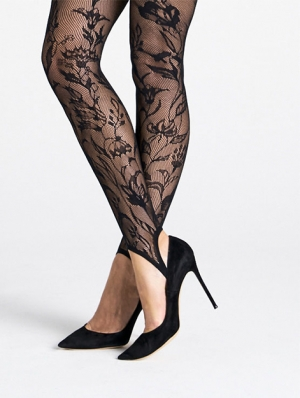 Wildflower Net Stirrup Tights