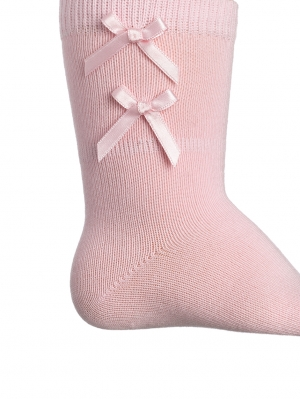Satin Ribbon Knee High