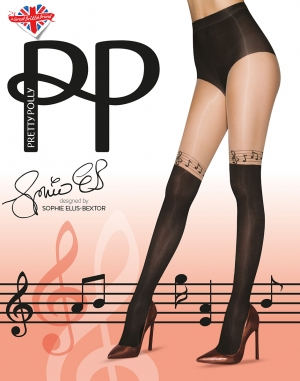 Sophie Ellis-Bextor Musical Notes Tights