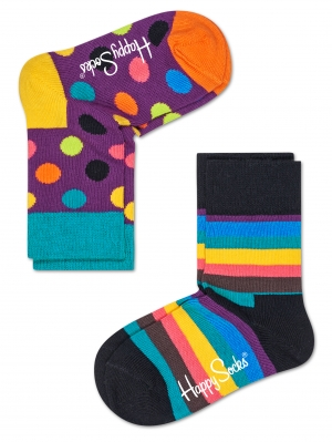 2-Pack Stripes Socks