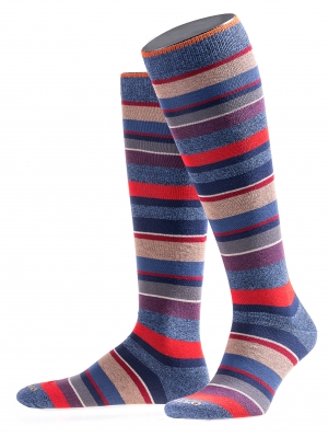 Wool Stripes Multicolor Kneehigh