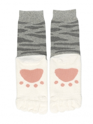 Footprint Toe Sock