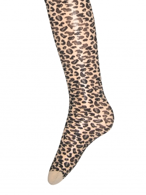 Leopard Kids Tights