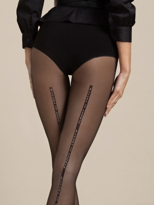 Dalida Patterned Tights