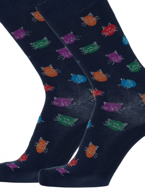 Cute Cats Men Sock