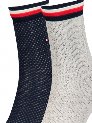Women Global Welt Sock 2-Pack