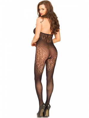 Halter Bodystocking Lace