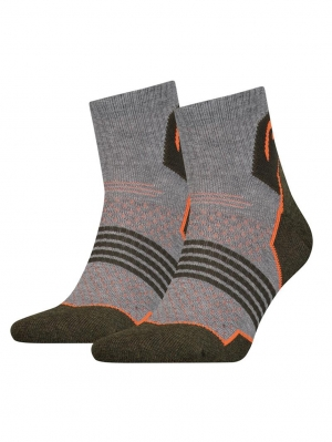 Hiking Quarter 2-Pack Korte Wandelsokken