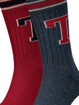 Tommy Hilfiger Patch Sock 2-Pack