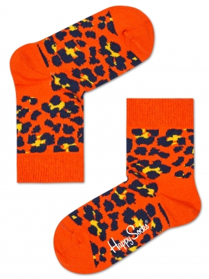 Kids Leopard Socks