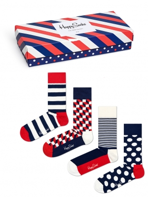 Stripe Socks Giftbox